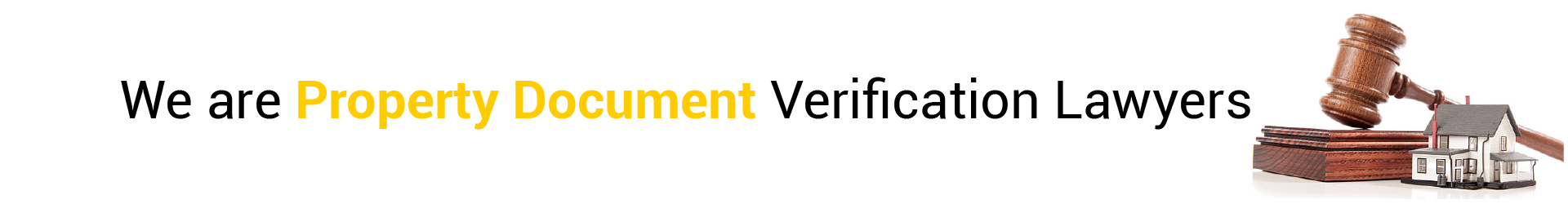 Property Document Verification Lawyers